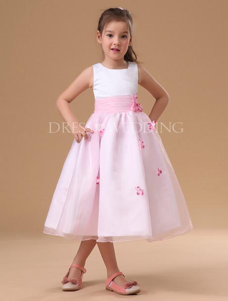 Blumenm 228 Dchen Kleid Rosa
