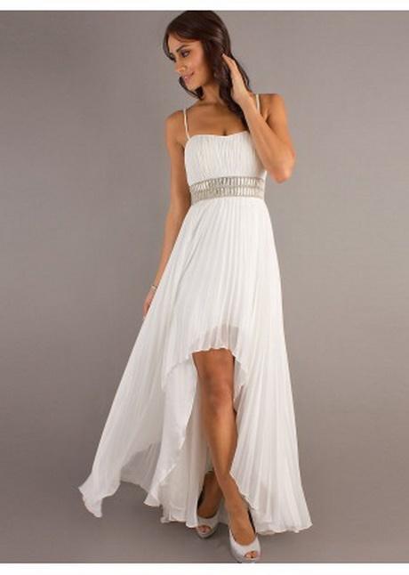 Hochzeitskleider vorne kurz hinten lang weiß