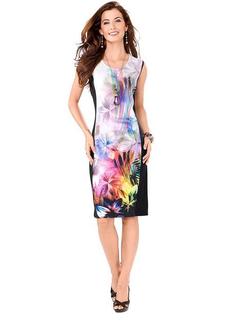 Kleid bunt festlich