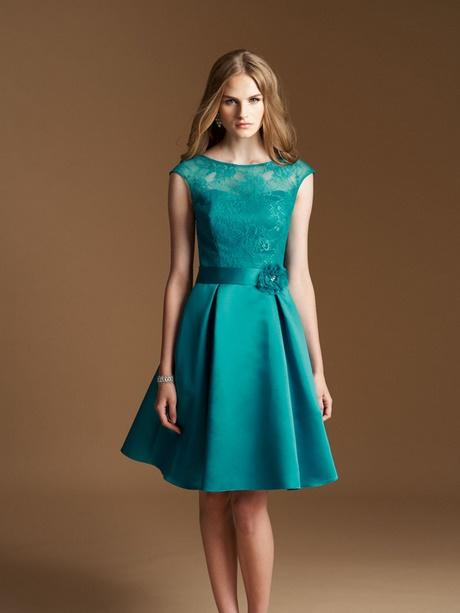 Kleid dunkelgrün kurz