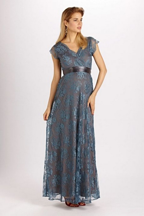 Kleid festlich blau