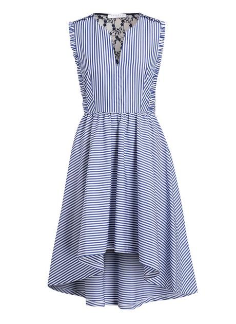 Kleid hellblau knielang