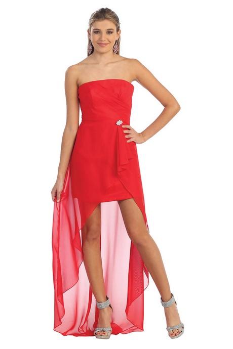 Rotes kleid vorne kurz hinten lang - Rotes kleid amazon ...