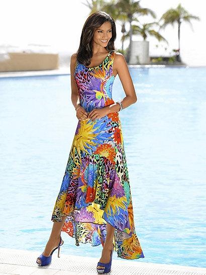Sommerkleid bunt lang