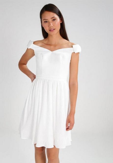 Sommerkleid kurz weiß
