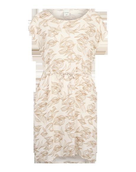 Transparentes weißes kleid