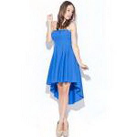 Blaues festliches kleid