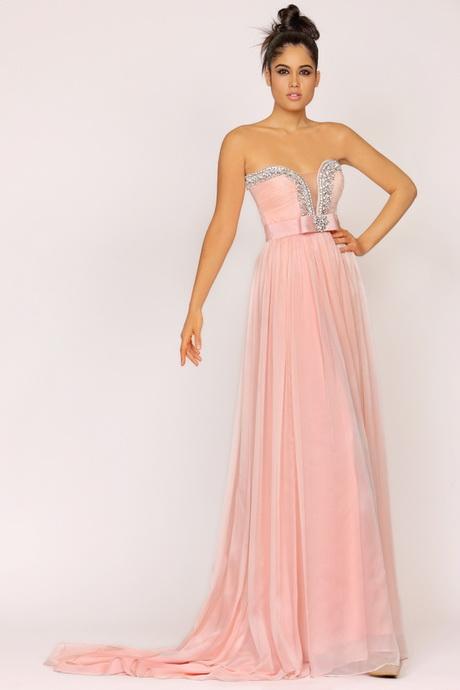 Langes abendkleid rosa - Milanoo abendkleider ...