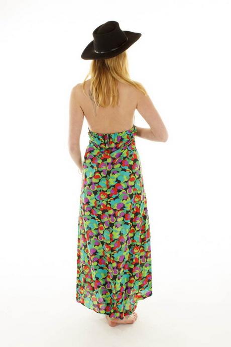Sommerkleid lang 46