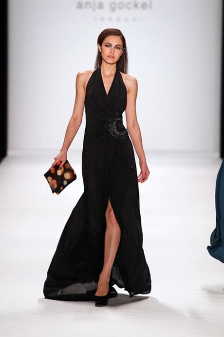 Sommerkleid lang schwarz