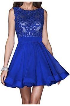 Abendkleider kurz dunkelblau