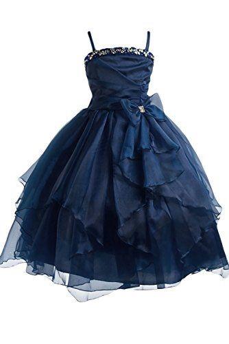 Kleider marineblau - Kinder festliche kleider ...
