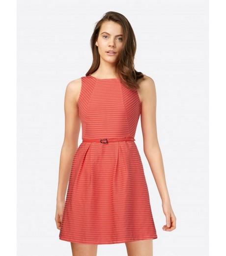 Kleid koralle kurz