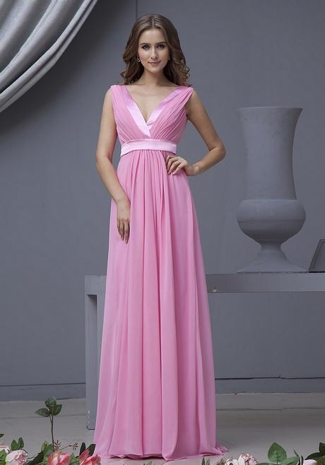 Brautjungfernkleider lang rosa
