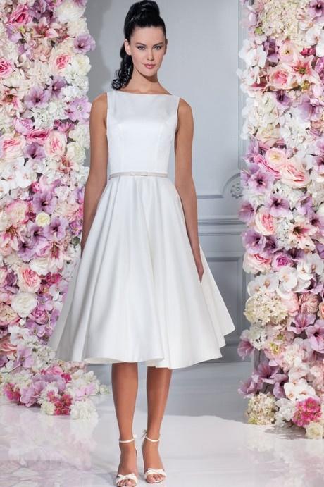 Hochzeitskleid schlicht kurz