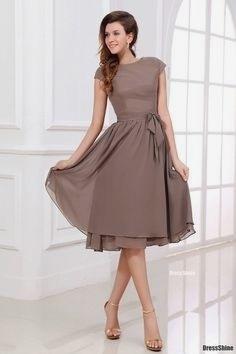 knielange kleider für festliche anlässe