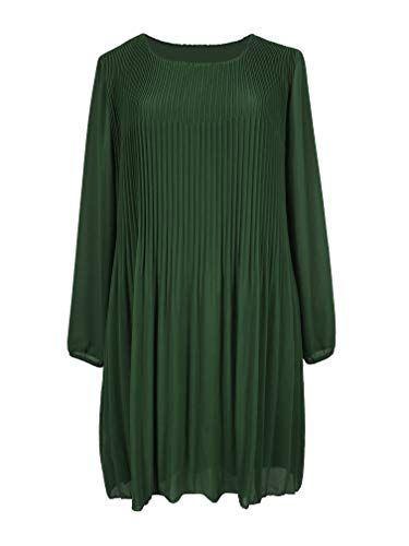Basic kleid grün