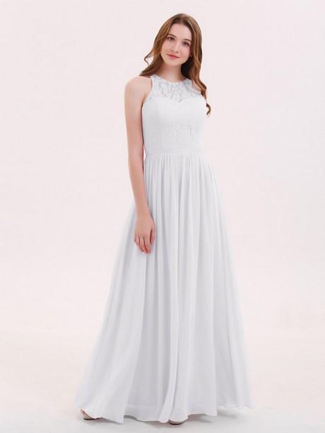 kleider lang weiß