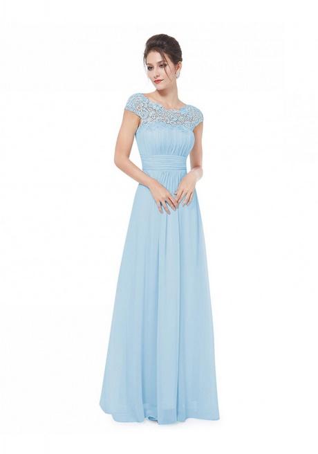 Abendkleider hellblau