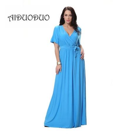 abendkleider lang blau
