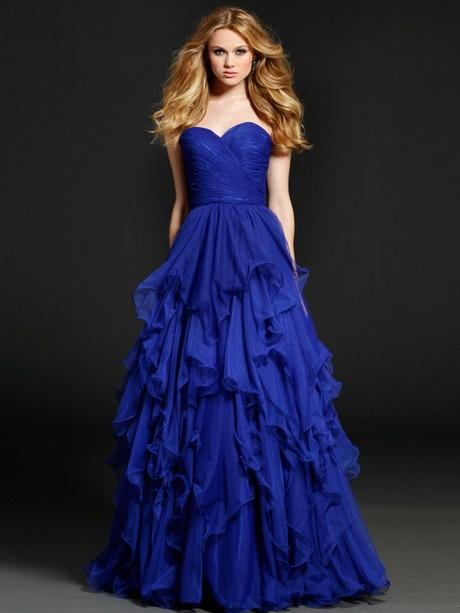 Abiballkleid blau