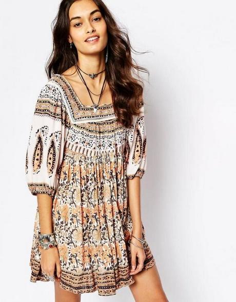 hippie boho kleid