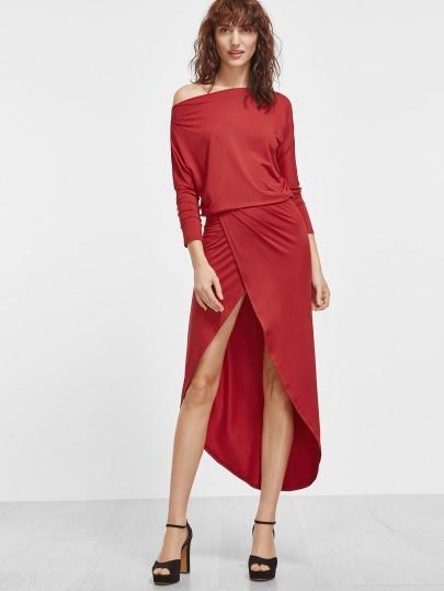 Kleid kurz langarm