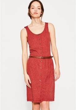 Kleid langarm rot - Zalando kleid rot ...