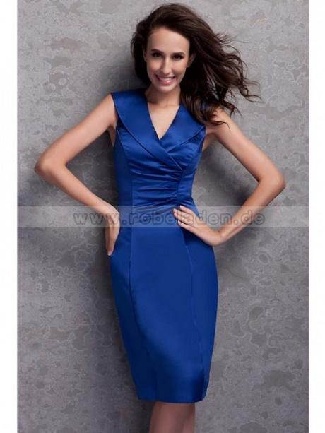 Kleider blau knielang - Moderne abendkleider ...