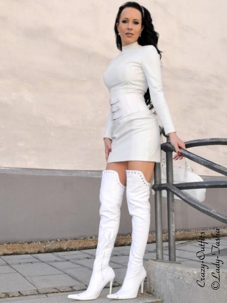 Langarm kleid wei for Shein frauen mode