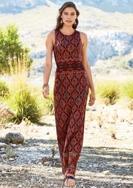 Lange Hippie Sommerkleider