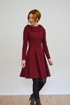 Winterkleider langarm