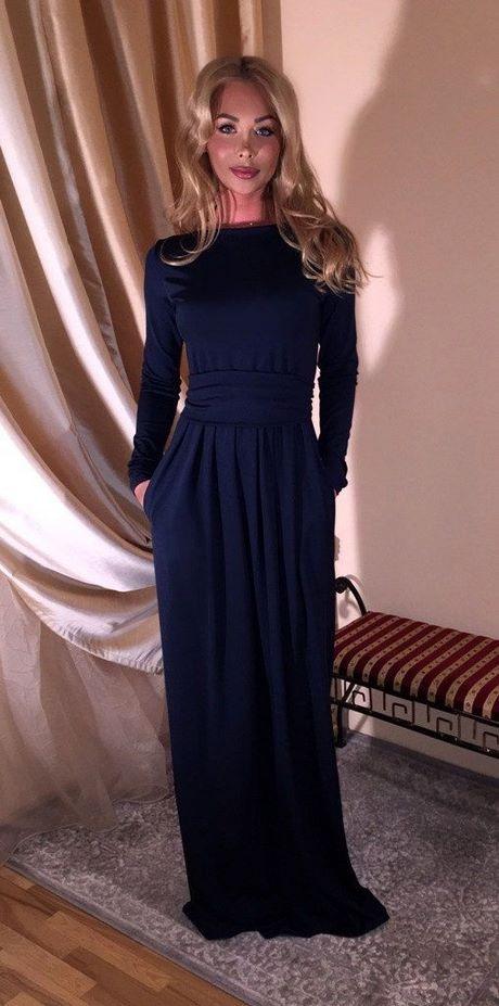 Abendkleid maxi langarm