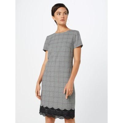 Kleid grau knielang