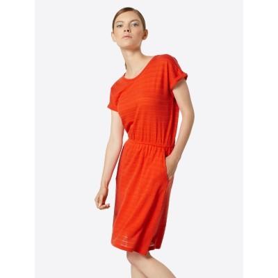 Kleid koralle knielang