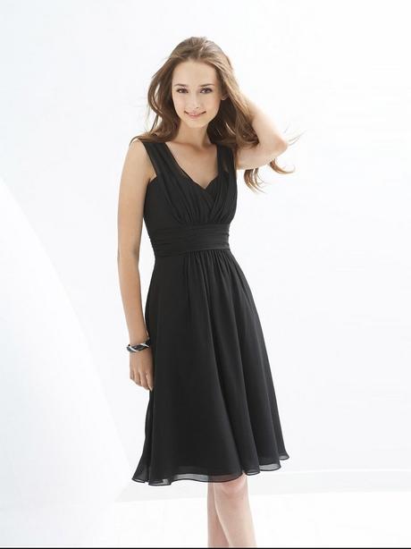 Kleid schlicht knielang