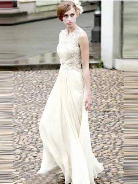 Lange weiße kleider günstig