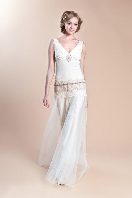 1920er Jahre Vintage Brautkleider