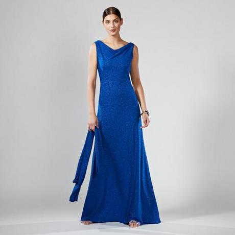 Abendkleider lang hellblau