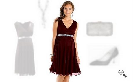 Festliche Kleider für Schwangere zur Hochzeit: Jasmins Outfit für ...