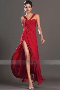 Abendkleid lang beinschlitz - Rotes abendkleid lang ...