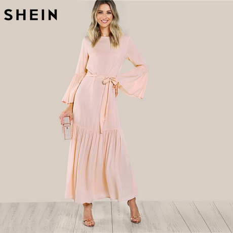 Lange kleider herbst for Shein frauen mode