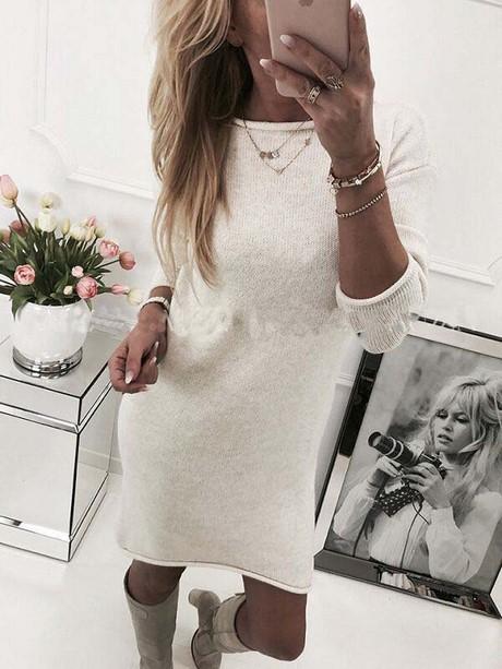 Damen kleider langarm günstig