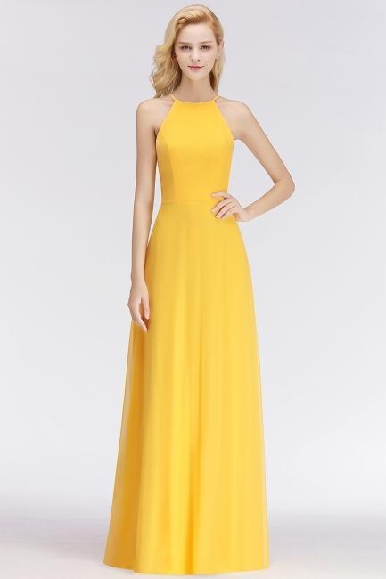 festliches kleid gelb