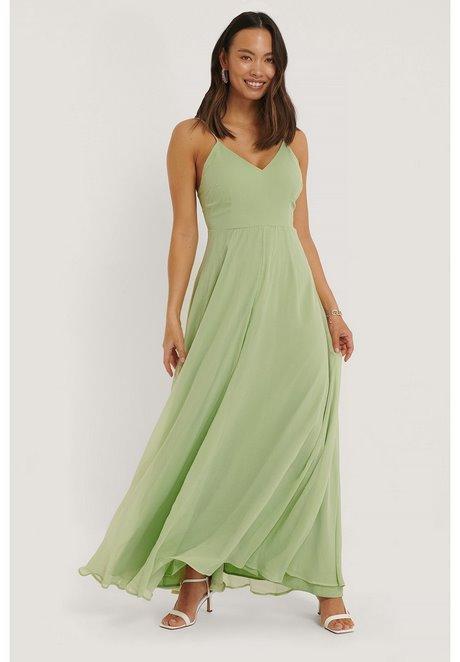 Grünes kleid zalando