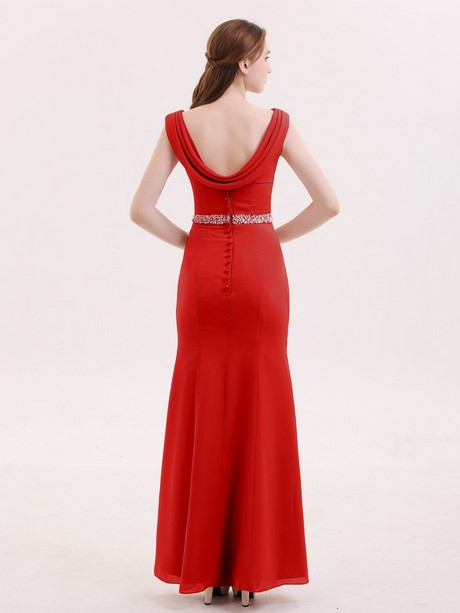 Kleid rot etui