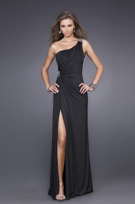 Kleid schwarz schick
