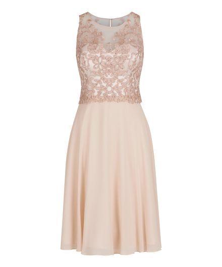 Sommerkleid kurz rosa