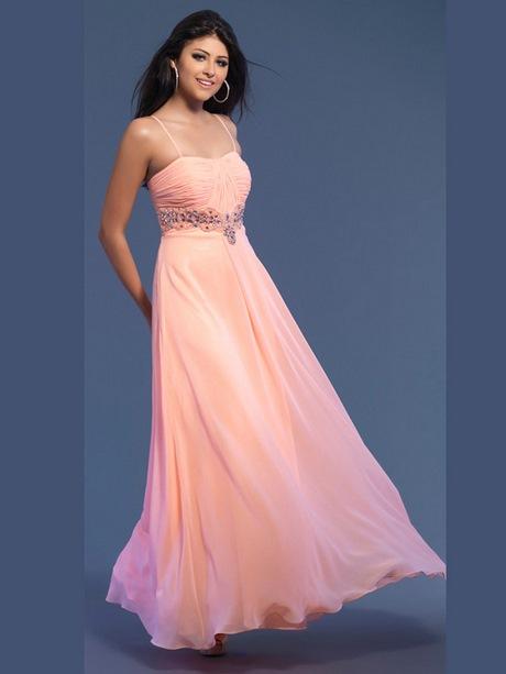 Abschlussballkleider lang rosa