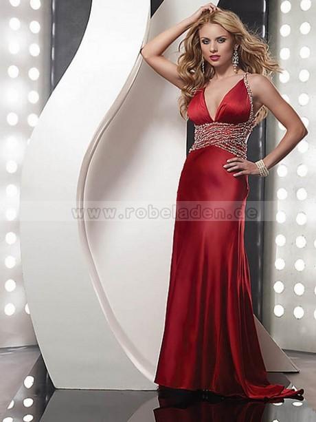 Kleid lang v ausschnitt